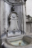 喷泉-布鲁日,比利时 库存照片