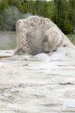 喷泉黄石 库存照片