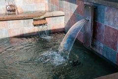 喷泉-细节3 免版税库存照片