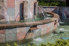 喷泉-细节2 免版税库存照片