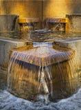喷泉水 库存图片