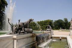 喷泉 免版税库存照片