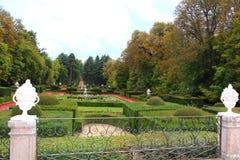 喷泉 La格兰哈de圣伊尔德丰索,塞戈维亚,西班牙王宫 库存图片