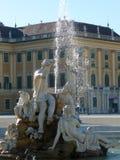 喷泉& x22; Schönbrunn& x22; 图库摄影