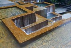 喷泉ira俄勒冈波特兰s 免版税库存照片