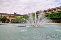 喷泉palais royale 图库摄影