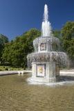 喷泉petrodvorets 库存照片