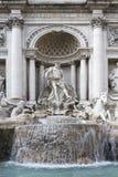 喷泉Trevi在罗马。 免版税库存图片