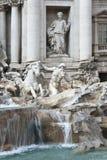 喷泉Trevi在罗马。 免版税图库摄影