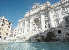 喷泉Trevi在罗马 免版税库存照片