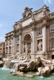 喷泉trevi 图库摄影