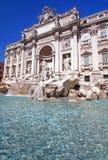 喷泉trevi 免版税图库摄影