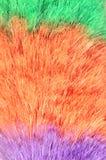 喷粉器羽毛宏指令 库存照片