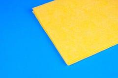喷粉器microfiber黄色 免版税图库摄影
