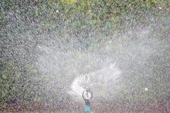 水喷水隆头 免版税库存照片