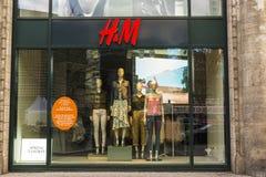 嗯商店在柏林,德国 免版税库存图片