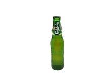 嘉士伯啤酒 免版税库存照片