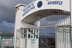 嘟囔码头-斯旺西,威尔士,英国 免版税库存照片