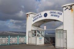嘟囔码头-斯旺西,威尔士,英国 库存照片