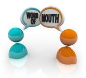 嘴人告诉双词 向量例证