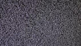 噪声电视背景 有坏信号招待会造成的静态噪声的电视屏幕 有静止的电视屏幕 库存例证