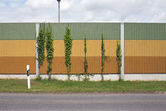 噪声障碍墙壁 免版税库存图片