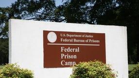 囚犯集中营,联邦监狱局 库存图片