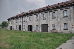 囚犯集中营 库存照片