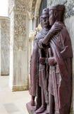 四一州的四分之一的领主画象由圣马克` s正方形的在威尼斯 库存照片