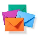 四个信包 库存照片
