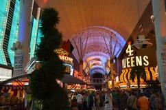 四个女王/王后、佛瑞蒙旅馆和赌博娱乐场,佛瑞蒙街经验,地标,城市,银行营业厅,义卖市场 免版税图库摄影
