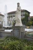 四个季节喷泉 免版税库存图片