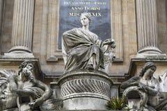 巴黎-四个季节的喷泉 免版税图库摄影