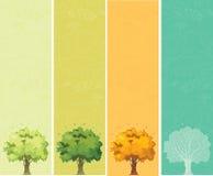 四个季节-春天,夏天,秋天,冬天 皇族释放例证