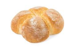 四个小圆面包面包特写镜头 库存照片