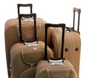 四个手提箱旅行 免版税库存图片