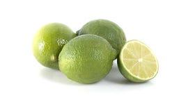 四个柠檬 库存照片