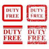 四个样式不加考虑表赞同的人作用,免税,被隔绝对白色 库存例证