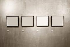 四个框架 库存照片
