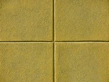四个正方形黄色 库存照片