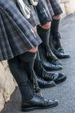 四个苏格兰人 免版税库存图片