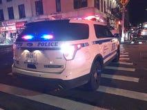四个警报火后果在24默里街5的 库存图片