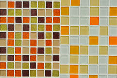 四个许多四个各种各样的瓦片聚集 免版税库存图片