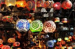 四周亚洲照明设备 库存照片