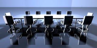 四周会议室 向量例证