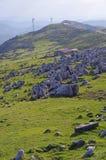 四国石灰岩地区常见的地形 免版税库存照片