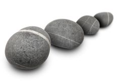 四块石头 图库摄影