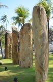 四块石头 库存照片