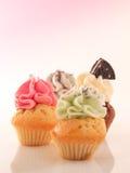 杯形蛋糕选择 免版税图库摄影