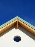 四坡屋顶 库存照片